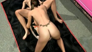 Animated lesbians licking their wet cunts