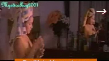 desi sexy ramya dress changing clip after bath and romancing