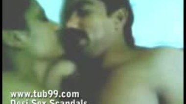 Naked Kissing Couple