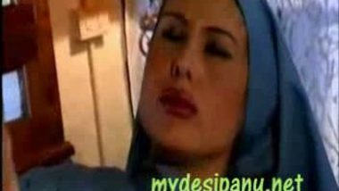 Arab hijabi office girl fucked by boss