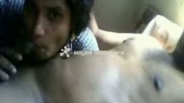 Indian Married Couple On Bed