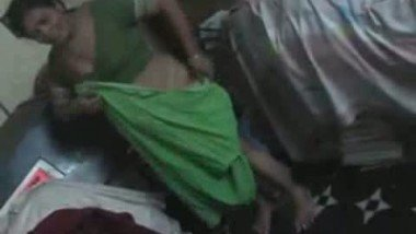 indian husband her wife dress change