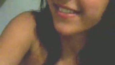 NRI big boobs teen girl masturbation on cam