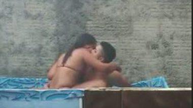 NRI girl making sex tape in swimming pool