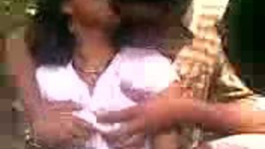 Tamil college girl outdoor sex with lover in college picnic