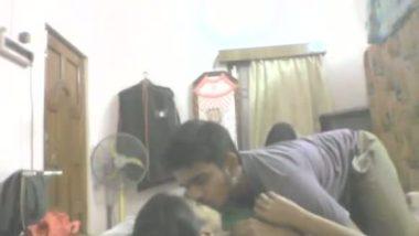 College girl unaware of hidden cam during sex