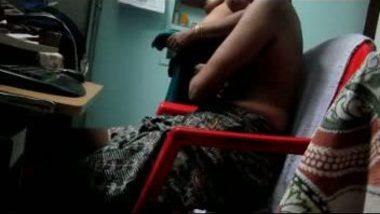 Desi sex mms of village aunty home sex with devar