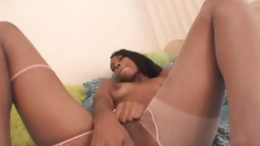 Exotic Slut Spreads Her Legs And Rubs Her Cunt To Orgasm