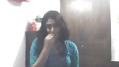 beautiful girl show her phudi
