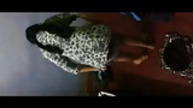 Desi girl caught  changing