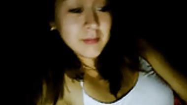 Indonesian Girl Loves To Tease On Webcam