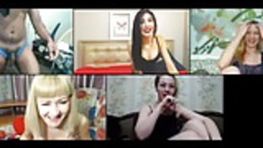 Humiliation party with 4 models