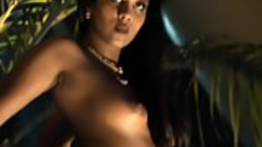 Bollywood Exotic Dancer In Shadow