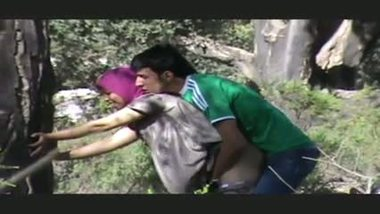 Indian muslim teen outdoor porn video