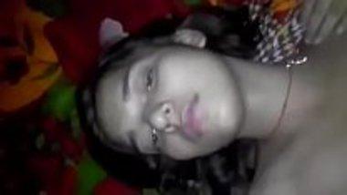 Hot Telugu college chick fucked in her bedroom