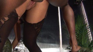 Busty Romana Ryder is fucked by a huge black cock