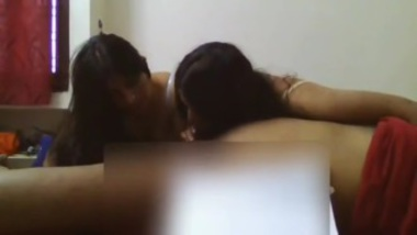 Threesome sex with two hot aunties