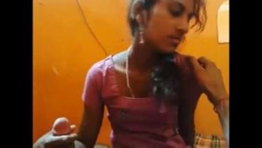 Sexy Marathi Girl's Hot Blowjob