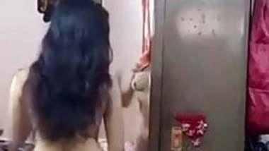 Selfie Bedroom Undress Flashing Nude Indian girl