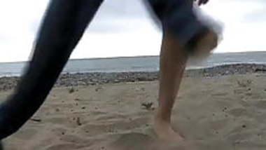 ex sis in law-goa beach1