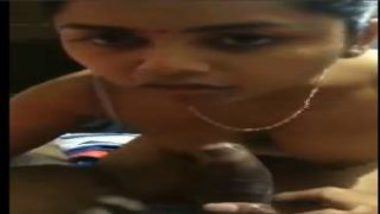 Hot Telugu Bhabhi Showing Horny Nipples During Blowjob